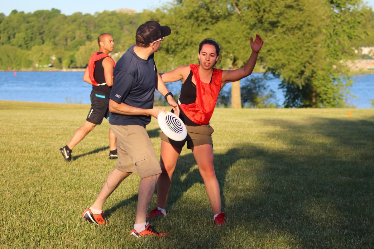 Ultimate Frisbee – Monday Sept 2