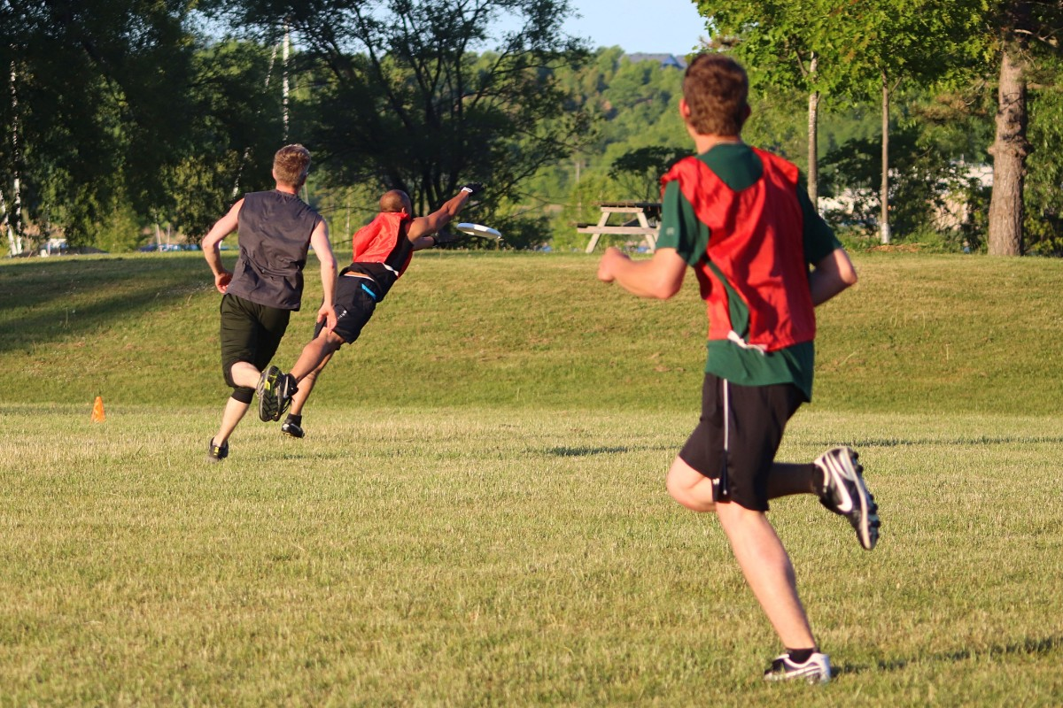 Ultimate Frisbee – Monday August 5