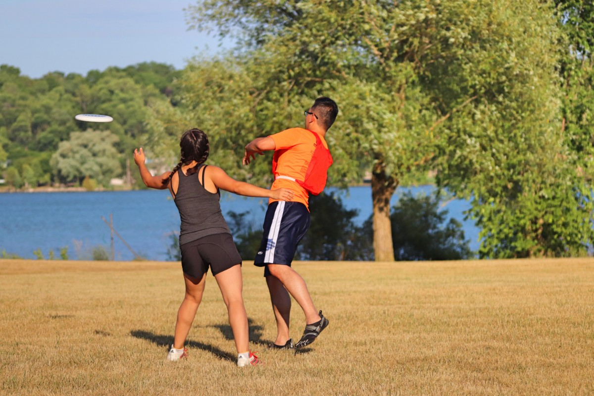 Ultimate Frisbee – Monday June 3