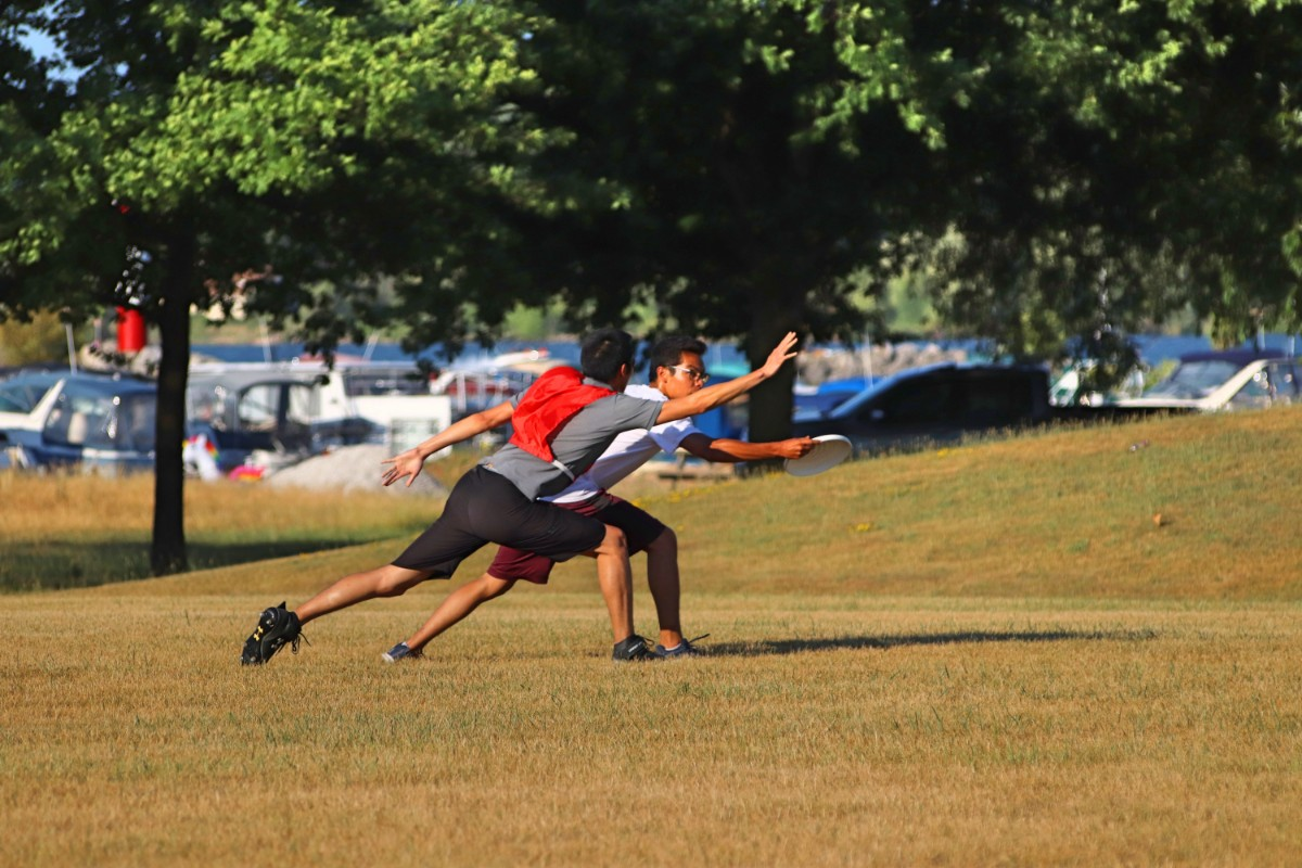 Ultimate Frisbee – Monday Sept 9