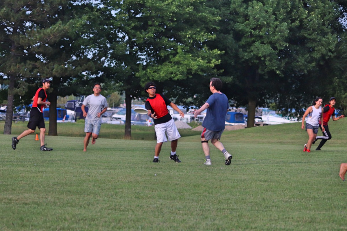 Ultimate Frisbee – Monday July 15