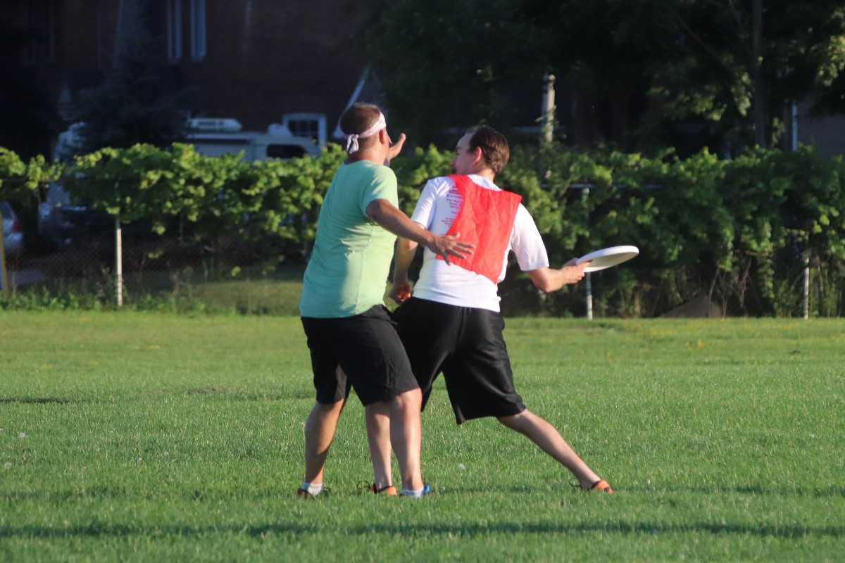 Ultimate Frisbee – Monday Sept 16