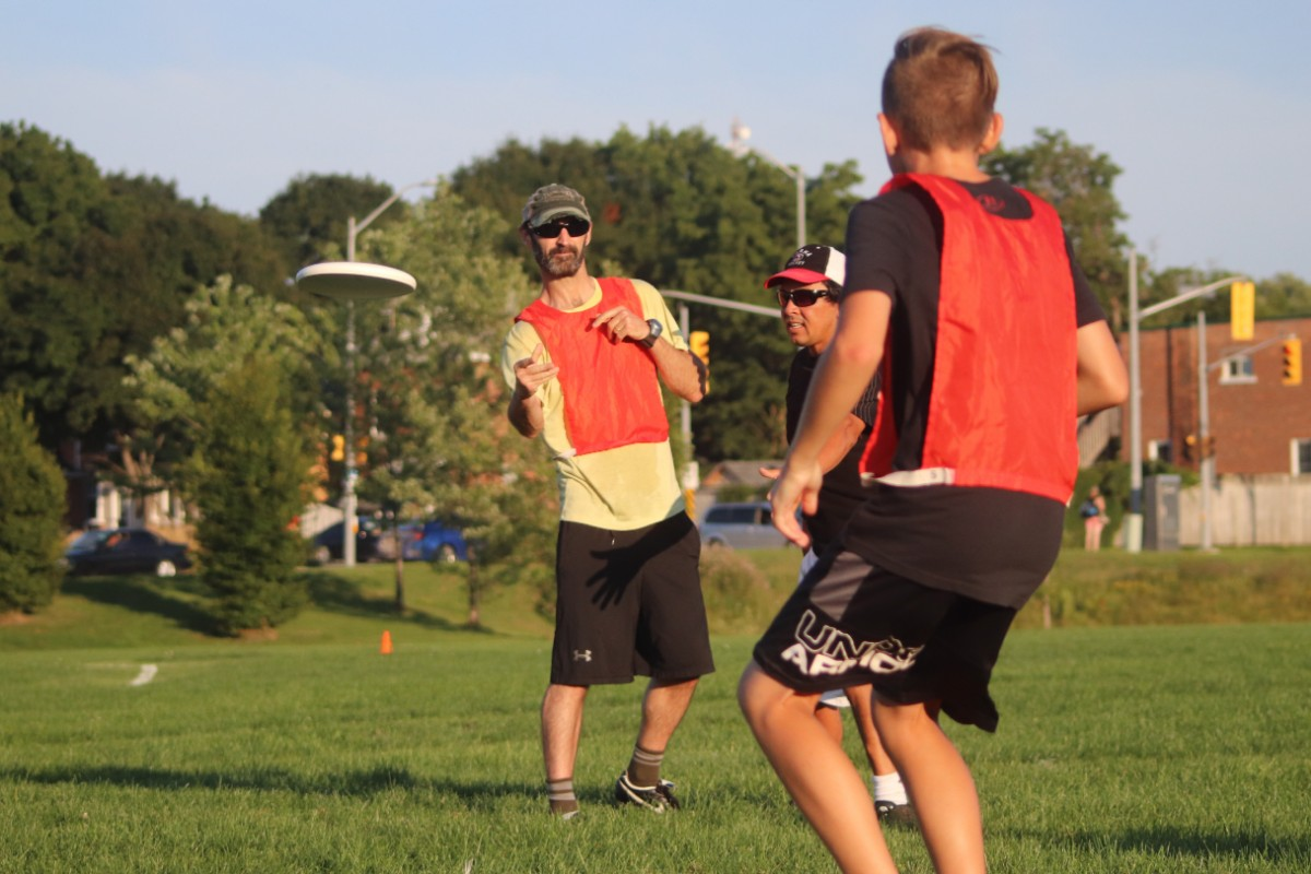 Ultimate Frisbee – Monday June 24