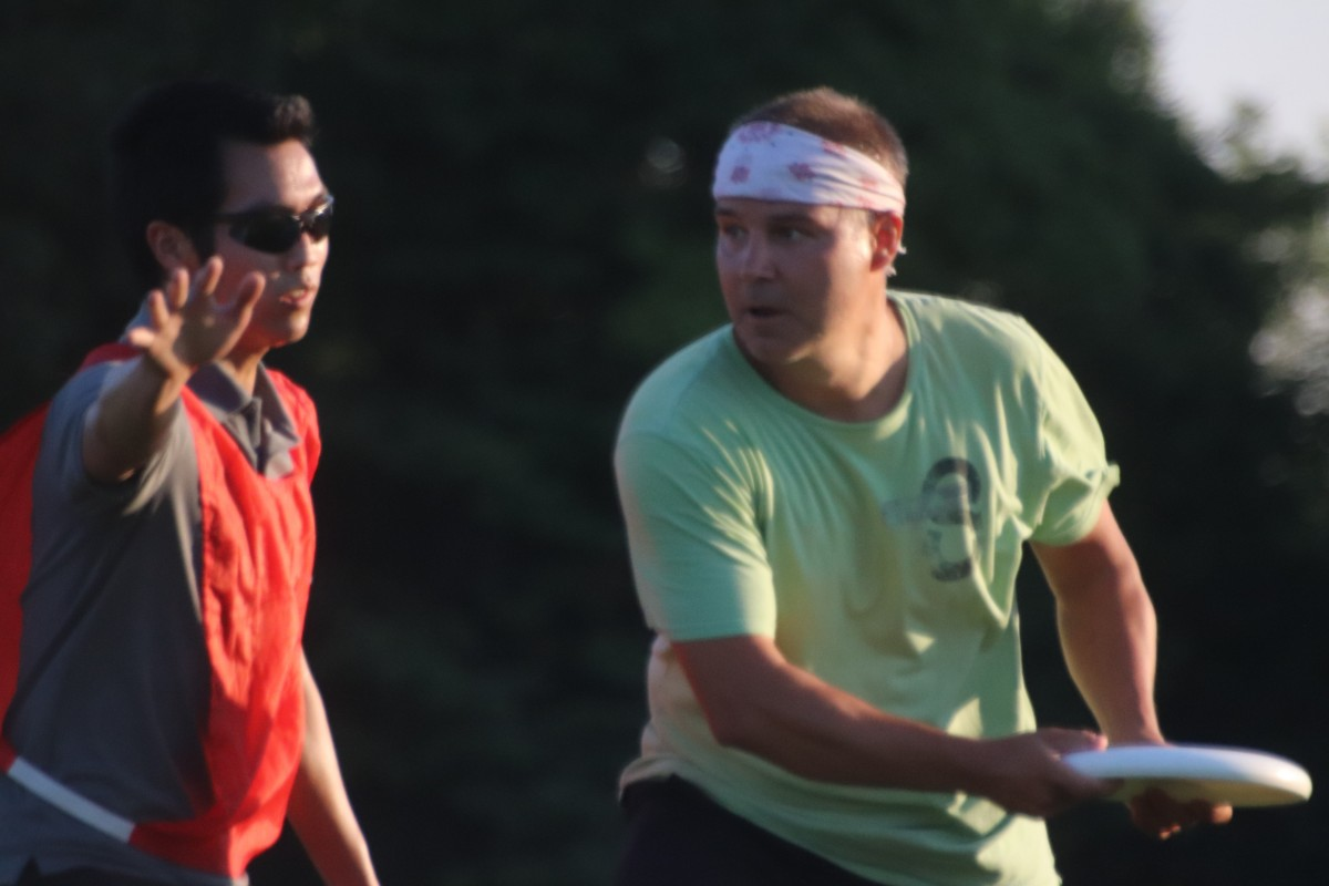 Ultimate Frisbee – Monday Sept 30