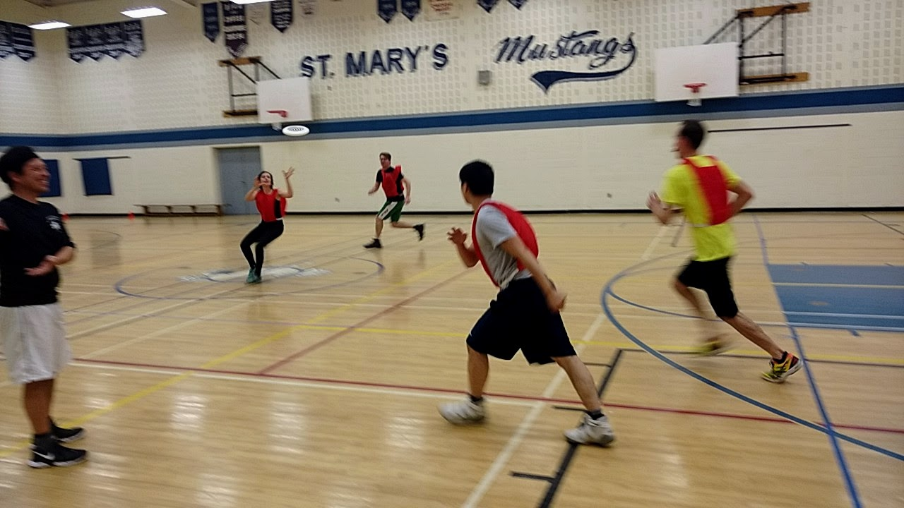 Last Indoor Ultimate Frisbee Game – March 29