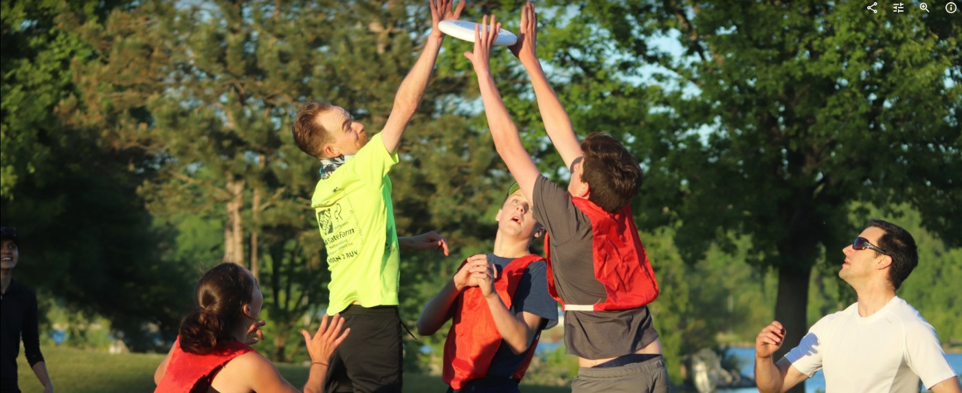 Ultimate Frisbee – Monday May 27